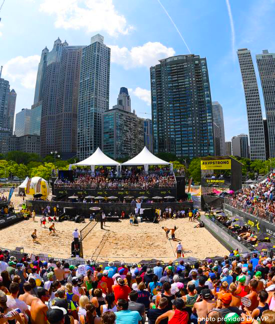 Corky's Great Assist At This Year's AVP Gold Series Final Tournament