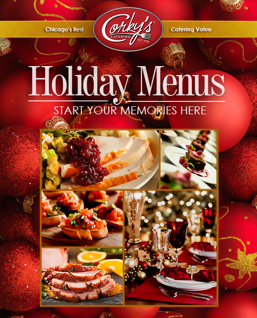 Corky's Catering 2015 Holiday Menu