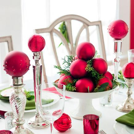 Quick and Simple Holiday Centerpieces