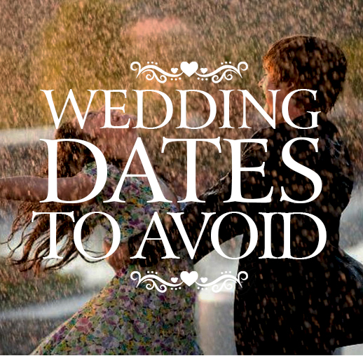 Wedding Dates to Avoid in 2016